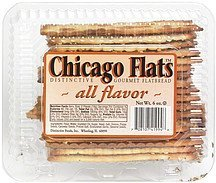 distinctive gourmet flatbread all flavor Chicago Flats Nutrition info