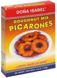 doughnut mix Dona Isabel Nutrition info