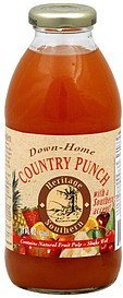 down-home country punch Heritage Southern Nutrition info
