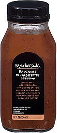dressing balsamic vinaigrette Marketside Nutrition info