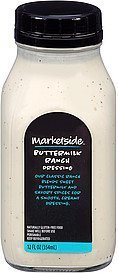 dressing buttermilk ranch Marketside Nutrition info