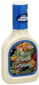 dressing classic ranch Price Chopper Nutrition info