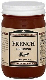dressing french Das Dutchman Essenhaus Nutrition info