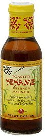 dressing & marinade toasted sesame Soy Vay Nutrition info