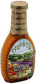 dressing organic, french OrganicVille Nutrition info