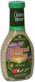 dressing poppyseed Chelten House Nutrition info