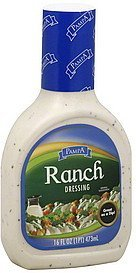 dressing ranch Pampa Nutrition info