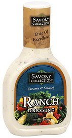 dressing ranch Savory Collection Nutrition info