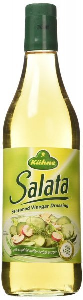 dressing salata seasoned vinegar Kuhne Nutrition info