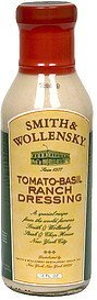 dressing tomato-basil ranch Smith & Wollensky Nutrition info