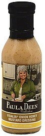 dressing vidalia onion honey mustard Paula Deen Nutrition info