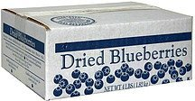 dried blueberries Traverse Bay Fruit Co. Nutrition info