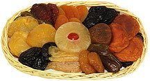 dried fruit assortment Hickory Farms Nutrition info