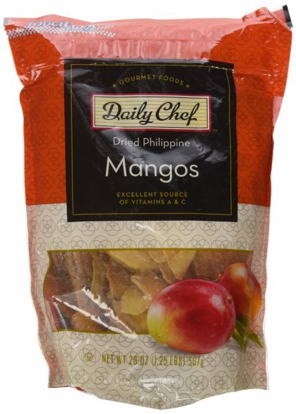 dried philippine mangos Daily Chef Nutrition info