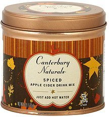 drink mix apple cider, spiced Canterbury Naturals Nutrition info