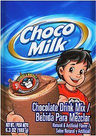 drink mix chocolate Choco Milk Nutrition info