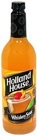 drink mix whiskey sour Holland House Nutrition info