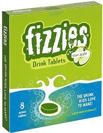 drink tablets sour apple fizzies Nutrition info