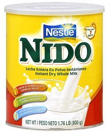 dry milk instant whole Nido Nutrition info