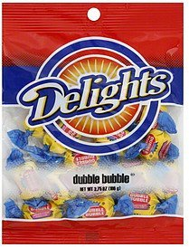 dubble bubble Delights Nutrition info