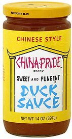 duck sauce China-Pride Nutrition info