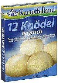 dumplings mix bavarian Kartoffelland Nutrition info