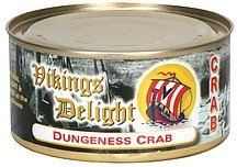 dungeness crab Vikings Delight Nutrition info
