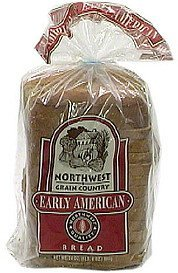 early american bread Northwest Grain Country Nutrition info