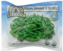 edamame in the shell Village Grown Organic Nutrition info