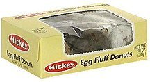 egg fluff donuts Mickey Nutrition info