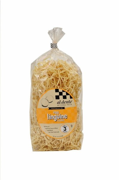 egg linguine Al Dente Nutrition info