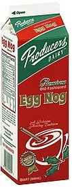 egg nog premium, old-fashioned Producers Nutrition info