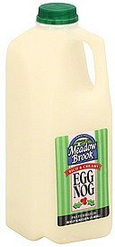 egg nog Meadow Brook Nutrition info