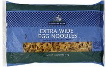 egg noodles extra wide Midwest Country Fare Nutrition info