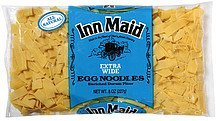 egg noodles extra wide Inn Maid Nutrition info