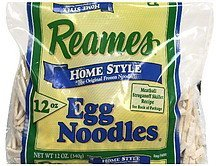 egg noodles home style Reames Nutrition info