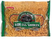 egg noodles wide Italian Pantry Nutrition info