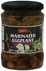 eggplant marinated Zergut Nutrition info