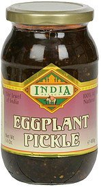 eggplant pickle India Select Nutrition info