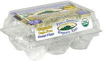 eggs organic grade a large brown Pete and Gerry's Nutrition info