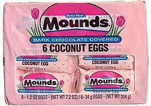eggs Mounds Nutrition info