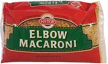 elbow macaroni enriched Hy Tops Nutrition info