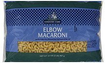 elbow macaroni Midwest Country Fare Nutrition info