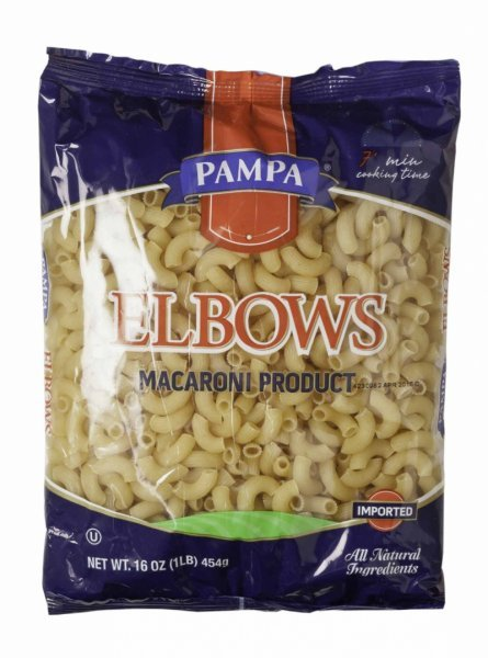 elbows enriched Pampa Nutrition info