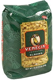 elbows Venecia Nutrition info