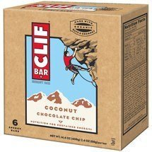 energy bar - coconut chocolate chip Clif Bar Nutrition info