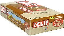 energy bars banana nut bread Clif Bar Nutrition info