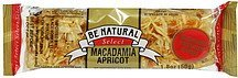 energy bars macadamia apricot Be Natural Nutrition info