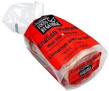 english muffins gluten free, cinnamon and currant Foods By George Nutrition info