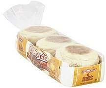english muffins Old Tyme Nutrition info